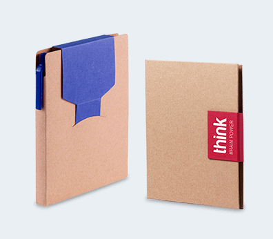 Notebook Set With Pen And Sticky Note