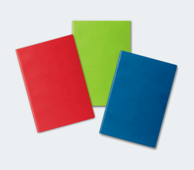 Notebook with flexible cover Customised with your design