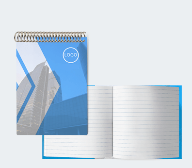 Notebooks with Custom Interior Customised with your design