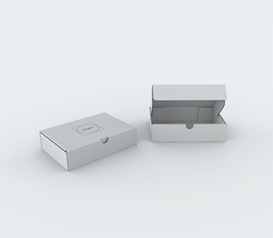 Single Wall Cardboard Postal Boxes for Flat Products Customised with your design