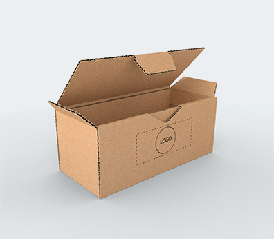 Medium Size Single Wall Cardboard Postal Boxes Customised with your design