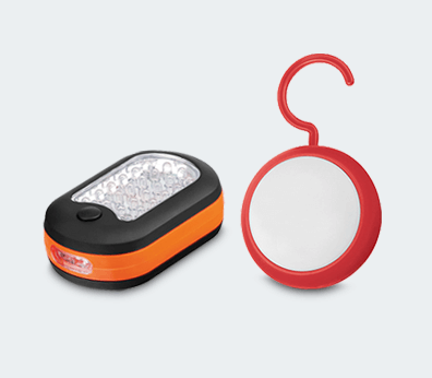 Flashlight with Hook Customised with your design