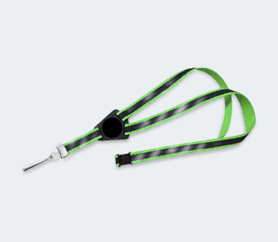 Reflector Lanyard Customised with your design
