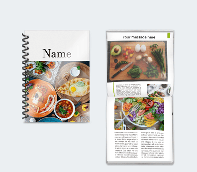 Booklets Customised with your design
