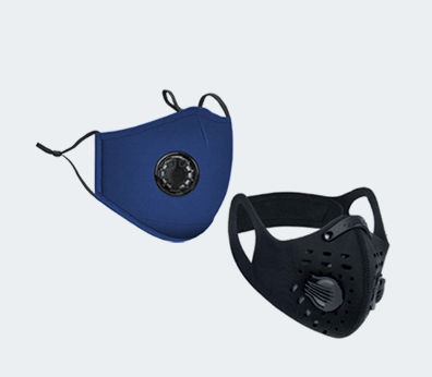Reusable Valve Masks Customised with your design