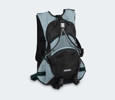 Cyclist Running Backpack Customised with your design